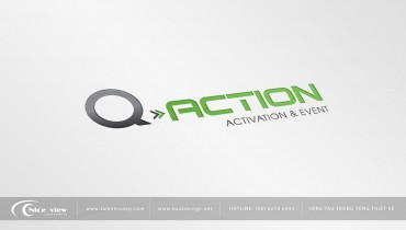 Thiết kế logo Q action