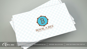 book a bee name card